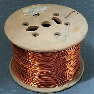 14 Awg Gauge Enameled Copper Magnet Wire Apprx 4700 Ft