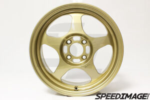 Rota Slipstream Wheels 15x6 5 40 4x100 Gold For Honda Civic Xa Xb Rims