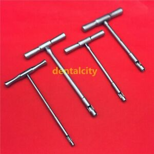 New Hollow Mill For Removal Of Bone Screws Extractor Orthopedics Instrument 4pcs