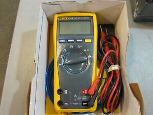 Fluke 175 Trms Digital Multimeter With Test Leads Manual Free Shipping