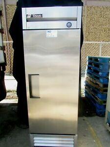 True Stainless Steel Freezer Model T 10f With Lockable Door Gently Used Product