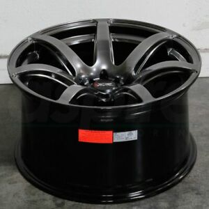 18x8 5 Chromium Black Wheels Xxr 560 5x100 5x114 3 20 Set Of 4