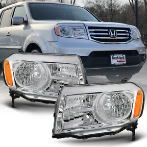 For 12 15 Honda Pilot headlight Lh rh Side Replacement Front Driving Signal Lamp
