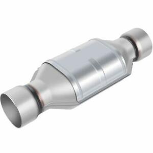 3 Inlet Outlet Catalytic Converter Universal Fit High Flow Stainless Steel Conv
