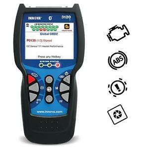 Innova 3120 Bluetooth Check Engine Code Reader Scan Tool With Abs Battery Reset