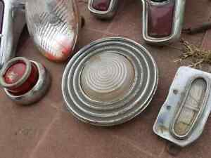 Batch Of Lanterns And Other Parts Of Old Cars
