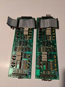 Simplex 562 777 8 Point Monitor Card For 4002 Fire Alarm Lot Of 2