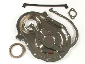 Mr Gasket 4591 Timing Cover 1 piece Steel Chrome Plated Chevy Big Block Kit