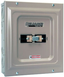 Reliance Controls Utility Generator Transfer Switch Indoor 60 Amp Double Pole