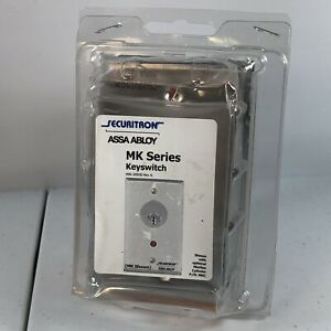 Securitron Assa Abloy Mk Series Keyswitch no Mortise Cylinder Included