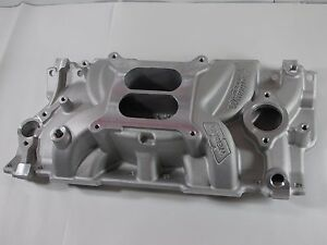 Weiand Speed Warrior Intake Manifold 8150 Chevy Sbc 283 327 350 For Stock Heads