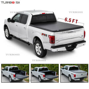For 2007 2013 Chevy Silverado 1500 2500 6 5ft Roll Up Truck Tonneau Bed Cover
