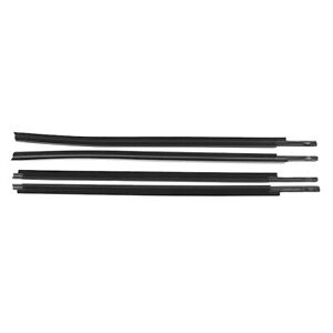Car Outside Moulding Weatherstrip Seal Belt For 2007 18 Toyota Tundra Crewmax Am