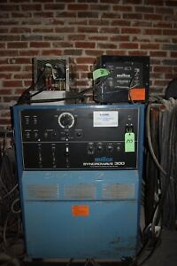 Miller Syncrowave 300 Ac dc Welder With Coolers