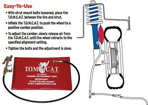 Tomcat Air assisted Bag Multiple Camber Adjustment Tool New Free Shipping Usa