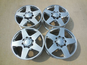 20 Chevy Silverado 8x6 5 Gmc Sierra 2500hd Factory Wheels High Polished