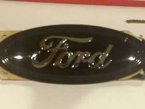 7 Ford black 2017 Escape Grille Emblem stick On custom Paint dealer Oem