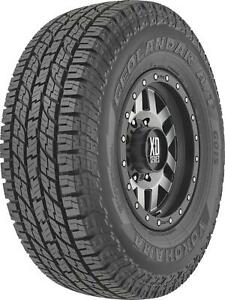 Tire Geolander G015 P255 75r17 Radial 2535 Lbs Load T Rated White Letters Each