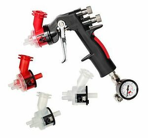 3m 16587 Accuspray Hgp Spray Gun Kit W Air Control Valve 1 8 2 0 Mm Heads