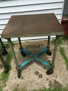 Steel Industrial Work Table Workshop Tool Welding Machinist L b Sales Co