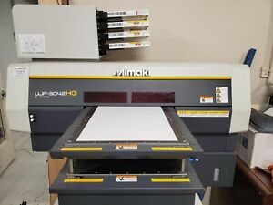 Mimaki Uv Printer Ujf 3042hg W New Ink Just Installed Plus Extras