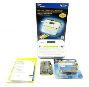 Brother P touch Pt d400 Versatile Compact Label Maker New In Open Box