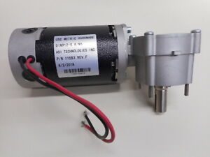 Tennant T7 Nobles Ssr Brush Motor 1048884 1210864 1000083 With Gearbox