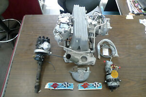 1957 Corvette Passenger Car Fuel Injection Unit W Distributor And Extras Look