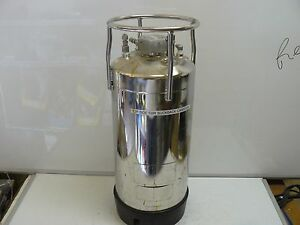 Alloy Products 316 Stainless Steel Pressure Vessel 135 Psi Max Wp At 100 Deg F