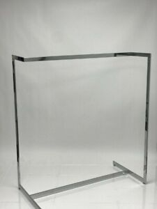 Z Clothing Rack heavy Duty Chrome Perfect For Stores