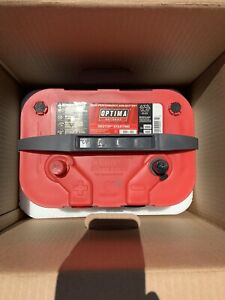 New Redtop Red Top Optima Starting Battery Batteries 34 78 34 78 Dual Post