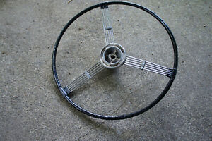 1930 s Chevy Banjo Steering Wheel Original Chevrolet Master Vintage Vtg Rat Rod