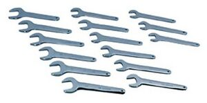 Atd Tools 1450 Metric Jumbo Service Wrench Set 15 Pc