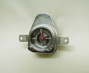 1951 Ford Working 6 Volt Dash Car Clock Restored