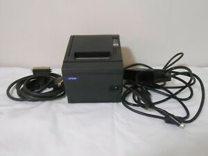 Epson Tm t88iii M129c Thermal Pos Receipt Printer power Supply parallel Cable