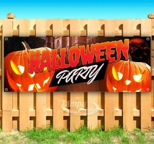 Halloween Party Advertising Vinyl Banner Flag Sign Many Sizes Available Usa