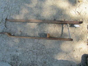1957 1958 1959 1960 Dodge Pickup Town Wagon Truck Spare Tire Carrier Under Bed