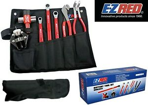 E z Red Bmk1914 Battery Maintenance Tool Kit With Case New Free Shipping Usa