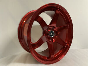 18 Staggered Candy Red Grid Style Wheels Fits 5x114 3 Honda Accord Civic