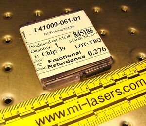Nd yvo4 Crystal For Dpss Laser 3x3 3x0 4mm 3 Melles Griot