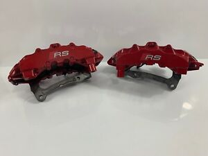 2017 Audi Rs3 Brembo 8 Piston Front Calipers