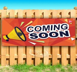 Coming Soon Advertising Vinyl Banner Flag Sign Many Sizes Business Usa