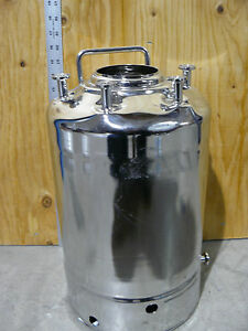 Alloy Products Corp 2 6 Gal 10l Stainless Steel Pressure Vessel 112773 001 1 Od