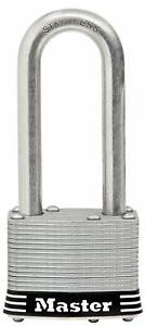 Master Lock 5sskadljhc 2 Stainless Steel Long Shackle Keyed Alike Lock 2 Pack