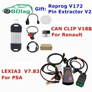 Renault Can Clip lexia3 Pp2000 Diagbox V7 83 Lexia 3 Diagnostic Tool For Citroen
