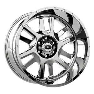 2 17x9 12 5x114 3 5x4 5 Vision Split Chrome Wheels rims 17 Inch 59358