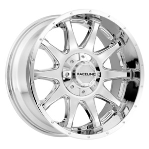 2 17x9 12 6x139 7 120 Raceline Shift Chrome Wheels rims 17 inch 47393