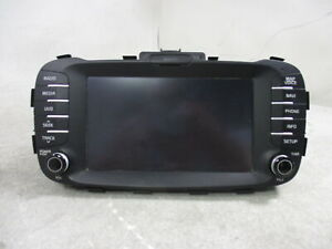 2015 2016 Kia Soul 8 Screen Information Navigational Radio Receiver W Sd Oem