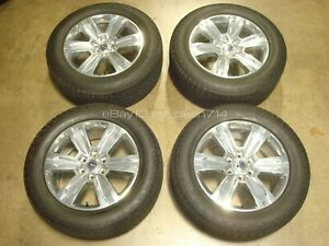 20 15 19 Ford F 150 Wheels Rims Platinum Tires Expedition Oem Factory F150 Fx4