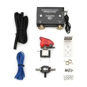 Dual Stage Electronic Turbo Boost Controller Psi Turbocharger With Switch Kit
